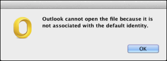Outlook Cannot Open The File Because It Is Not Associated