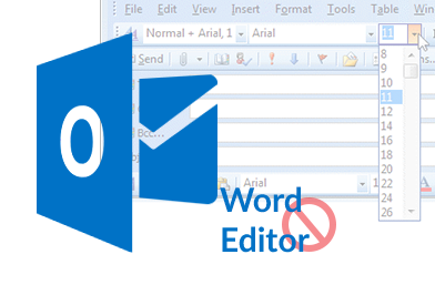 outlook email editor