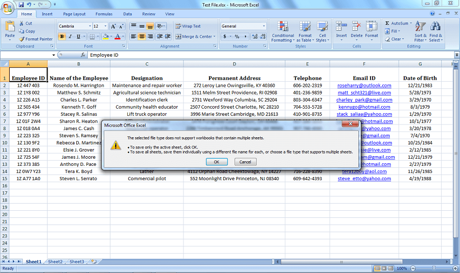 Excel to vCard Conversion – Export XLS & XLSX To VCF Format