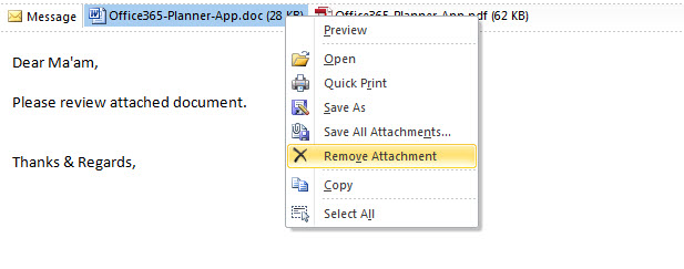 Dependable Procedures To Extract-Out Attachments In Outlook Mail