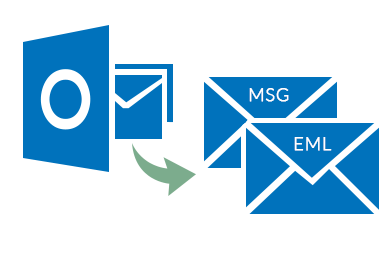 extract pst to msg & eml